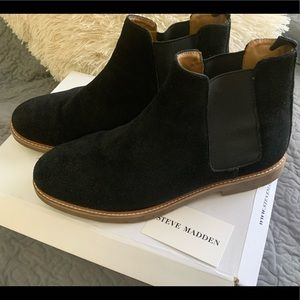 Steve Madden NEW shelsea Suede Highlyte boots
